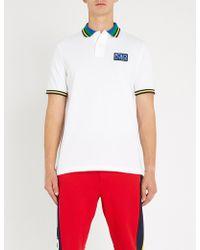 Polo Ralph Lauren - Logo Patch Cotton-pique Polo Shirt - Lyst