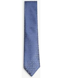 Charvet - Floral Print Silk Tie - Lyst