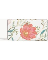 Kate Spade - Cameron Street Blossom Leather Wallet - Lyst