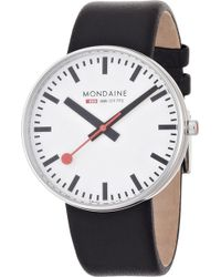 Mondaine A6603032811sbb Evo Giant White Watch