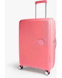 American Tourister - Soundbox Expandable Four-wheel Suitcase 67cm - Lyst