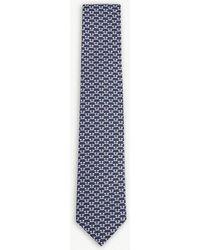 Ferragamo - Scottish Terrier Silk Tie - Lyst