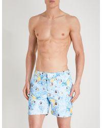Orlebar Brown - Parrot-print Swim Shorts - Lyst