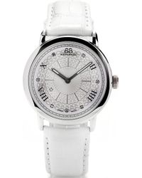 88 Rue Du Rhone - 87wa120008 Stainless Steel And Leather Watch - Lyst