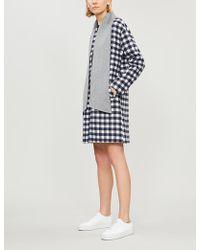 Claudie Pierlot - Gaya Reversible Wool-blend Coat - Lyst