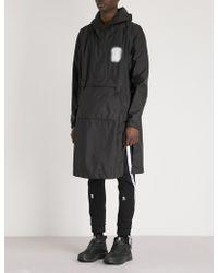 Boris Bidjan Saberi 11 - Glow-in-the-dark Patch Hooded Shell Jacket - Lyst