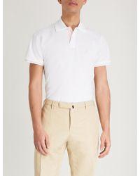 Thomas Pink - Brandon Cotton-piqué Polo Shirt - Lyst