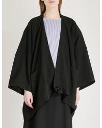 Limi Feu - Cocoon Wool-blend Jacket - Lyst