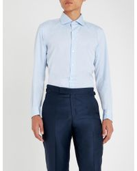 Richard James - Contemporary-fit Cotton Shirt - Lyst