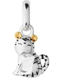 Links of London - Sterling Silver And 18-carat Yellow Gold Vermeil Chinese Zodiac Tiger Charm - Lyst
