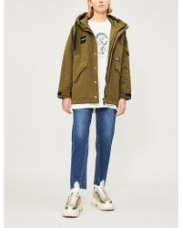 Chocoolate - Hooded Cotton-blend Parka - Lyst