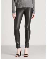Zadig & Voltaire | Pharel Stretch-leather Leggings | Lyst