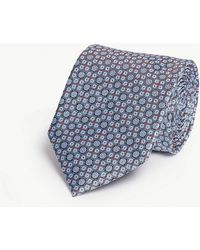 Eton of Sweden - Silk Patterned Tie - Lyst