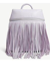 Skinnydip London - Tasselled Faux-leather Backpack - Lyst