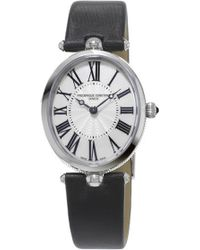 Frederique Constant - 200mpw2v6 Classics Art Deco Stainless Steel Watch - Lyst