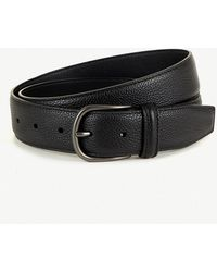 Andersons - Grained-leather Belt - Lyst