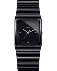 Rado - R21700702 Ceramica Black High-tech Ceramic Watch - Lyst