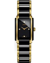 Rado R20845712 Integral Ceramic And Yellow Gold Watch