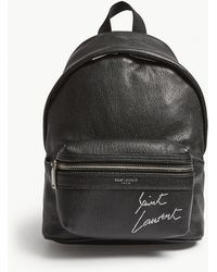 Saint Laurent - Toy City Leather Backpack - Lyst