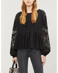 Free People - Pippa Wired Woven Body - Lyst