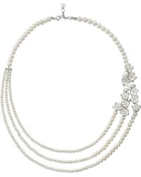 Shaun Leane - Rose Gold Cherry Blossom Diamond Necklace - Lyst