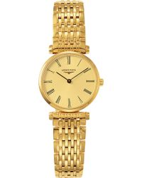 Longines - L4.209.2.31.8 La Grande Classique 18ct Gold-plated Stainless Steel Watch - Lyst