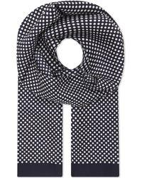 Eton of Sweden - Polka Dot Silk Pocket Square - Lyst