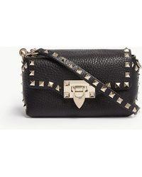 Valentino - Rockstud Leather Cross-body Bag - Lyst