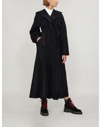Yohji Yamamoto - Cube Wool-blend Coat - Lyst