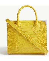 The Kooples - Ming Reptile-effect Leather Shoulder Bag - Lyst