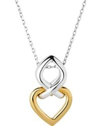 Links of London | Infinite Love 18ct Gold Vermeil And Sterling Silver Pendant Necklace | Lyst