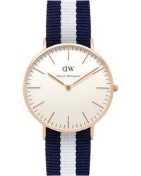 Daniel Wellington - 0503dw Classic Glasgow Ladies Watch - Lyst