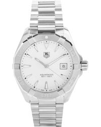 Tag Heuer - Way1111.ba0910 Aquaracer Stainless Steel Watch - Lyst