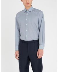 Eton of Sweden - Contemporary-fit Cotton Shirt - Lyst