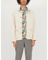 Billy Reid - Tuscumbia Cactus-print Cotton Shirt - Lyst