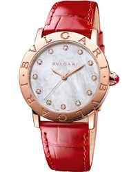 BVLGARI - Lady 18kt Pink-gold - Lyst