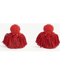 Sachin & Babi - Chacha Tassel Beaded Earrings - Lyst