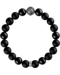 Thomas Sabo - Rebel At Heart Sterling Silver Bracelet - Lyst