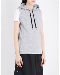 5cm - Zip-detail Cotton Hoody - Lyst