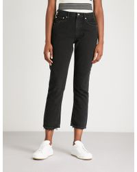 Agolde - Low-rise Cigarette Jeans - Lyst