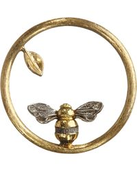 Annoushka - 18ct Yellow Gold Bee Hoopla - Lyst