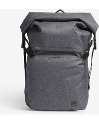 "Knomo - Hamilton 14"" Roll Top Backpack - Lyst"
