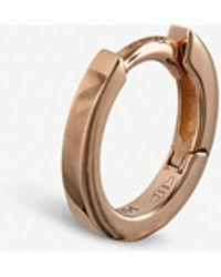 Repossi - 18-ct Rose Gold Hoop Earring - Lyst