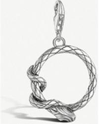 Thomas Sabo - Snake Sterling Silver Charm - Lyst
