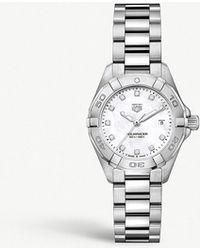 Tag Heuer - Wbd1414.ba0741 Aquaracer Diamond - Lyst