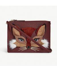 Kate Spade - So Foxy Leather Cross-body Bag - Lyst