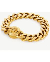 Versace - Medusa Pendant Bracelet - Lyst
