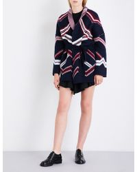 Maje | Marcozi Wool-blend Cardigan | Lyst