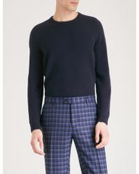 John Smedley - Crowford Wool And Cashmere-blend Jumper - Lyst