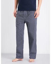 Derek Rose | Naturally Paisley Cotton Pyjama Bottoms | Lyst